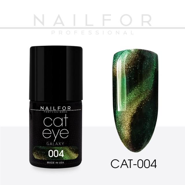 Semipermanente smalto colore per unghie: CAT EYE GALAXY 04-CAT Nailfor