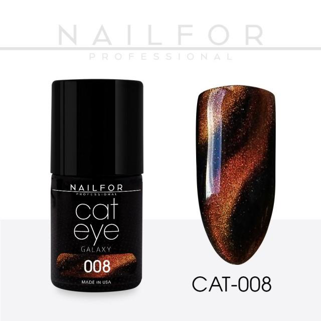 Semipermanente smalto colore per unghie: CAT EYE GALAXY 08-CAT Nailfor