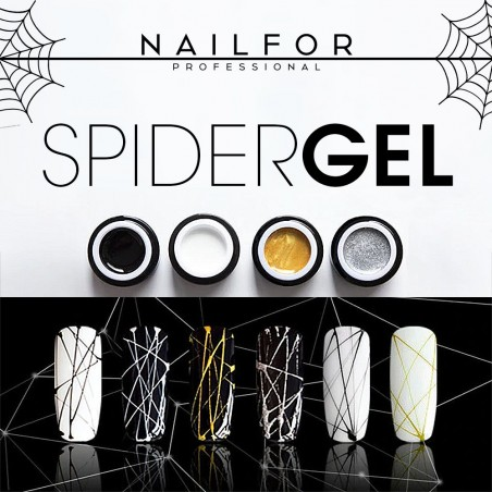 colore gel per unghie, nail art, nails SPIDER GEL - 11 Oro | Nailfor 4,90€