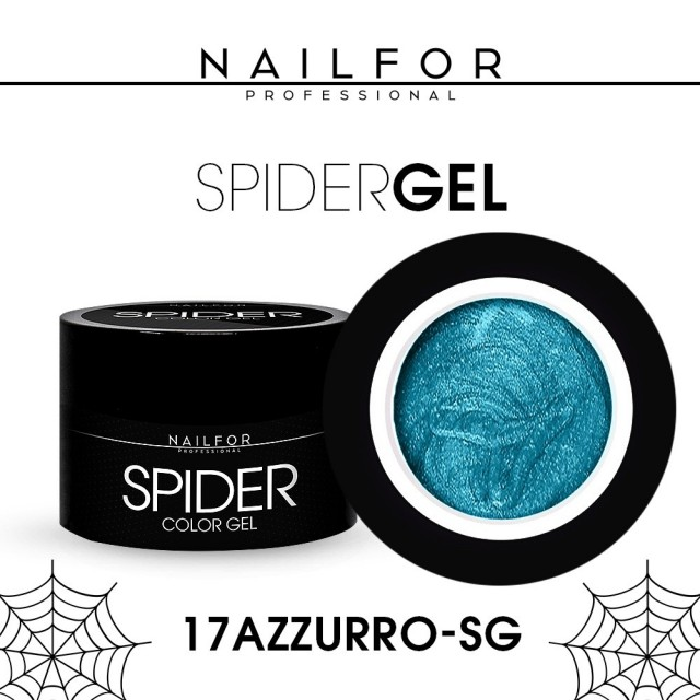 SPIDER GEL - 17 Blue