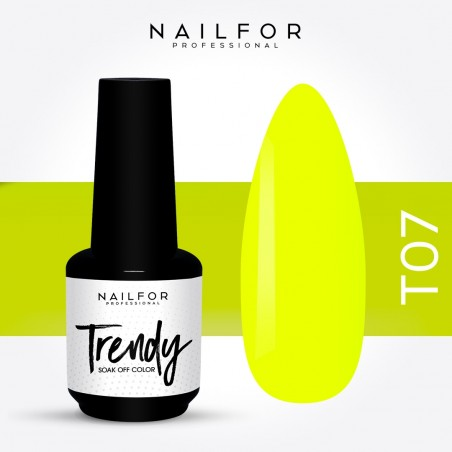 Semipermanente smalto colore per unghie: TRENDY Smalto Semipermanente T07-PGP Nailfor 7,99 €