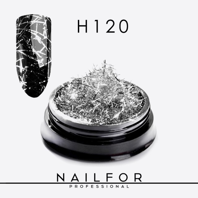 STRANDS OF SILVER COLOR H120