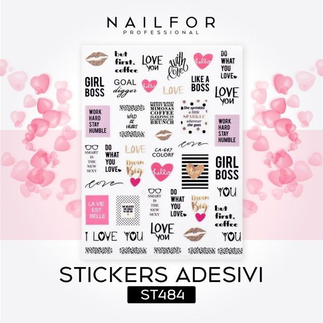 STICKERS LOVE - ST484