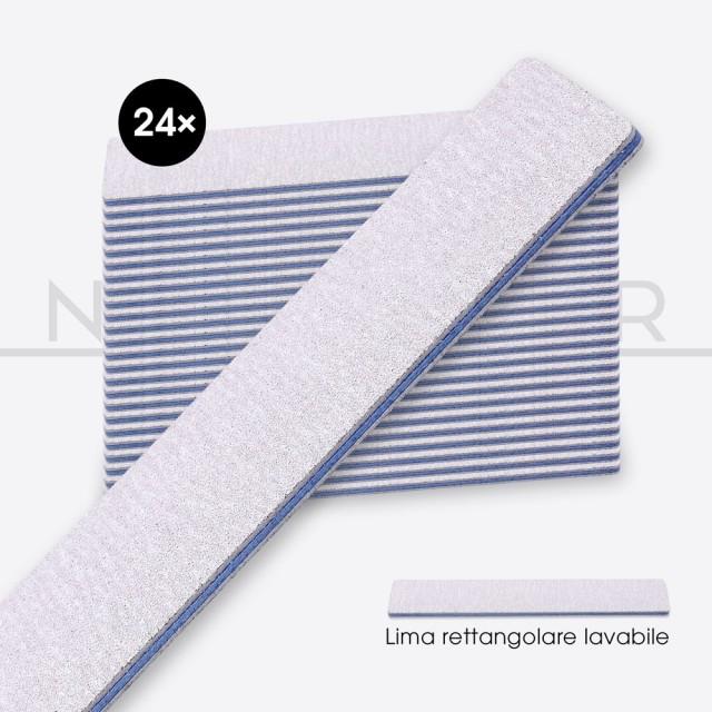 accessori per unghie, nails nail art alta qualità 24x LIMA RETTANGOLARE Anima Blu - Alta qualità Nailfor 19,99€ Nailfor
