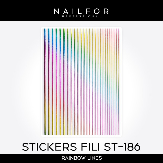 ADHESIVES LINES STICKERS ST186