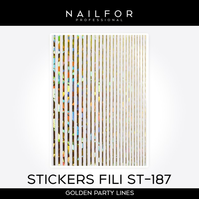 ADHESIVES LINES STICKERS ST187