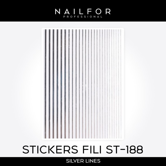 ADHESIVES LINES STICKERS ST188