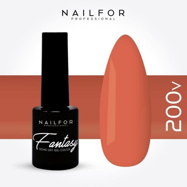 Semipermanente smalto colore per unghie: FANTASY Smalto Gel Semipermanente - 200V Nailfor 5,99€