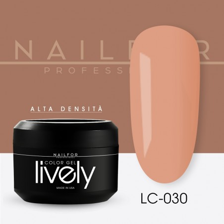colore gel per unghie, nail art, nails Lively Gel Color - LC030 | Nailfor 4,83€
