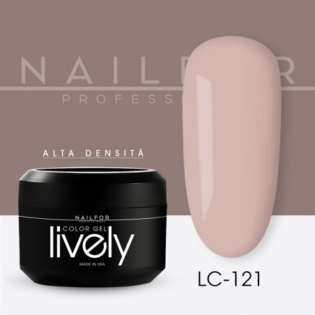 colore gel per unghie, nail art, nails Lively Gel Color - LC121   Nailfor 4,83€
