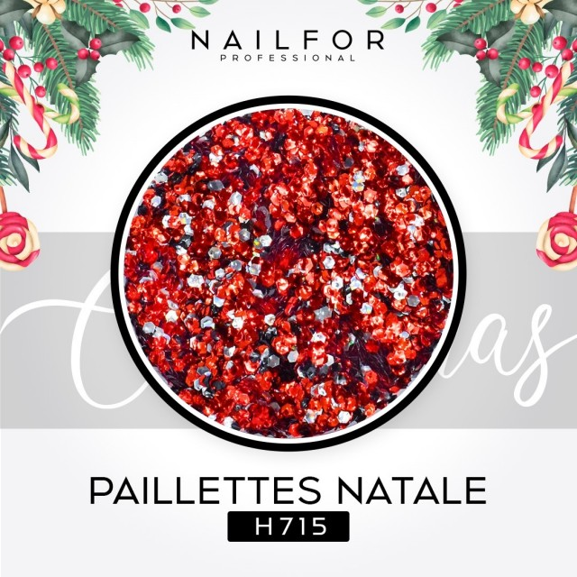 Red Sequins Christmas - H715
