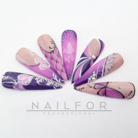colore gel per unghie, nail art, nails Painting Gel - TOP COLOR 02   Nailfor 4,74€