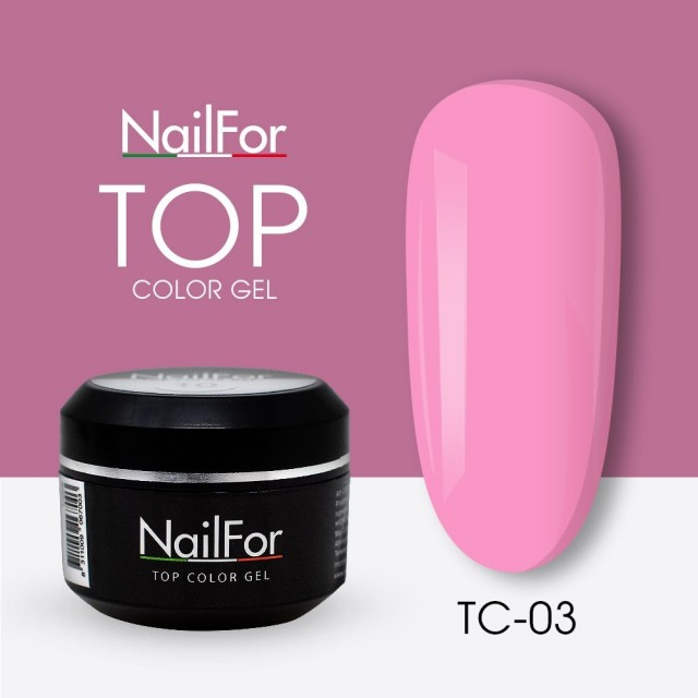 colore gel per unghie, nail art, nails Painting Gel - TOP COLOR 03 | Nailfor 4,74 €