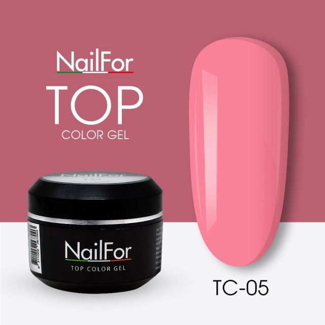 colore gel per unghie, nail art, nails Painting Gel - TOP COLOR 05   Nailfor 4,74€