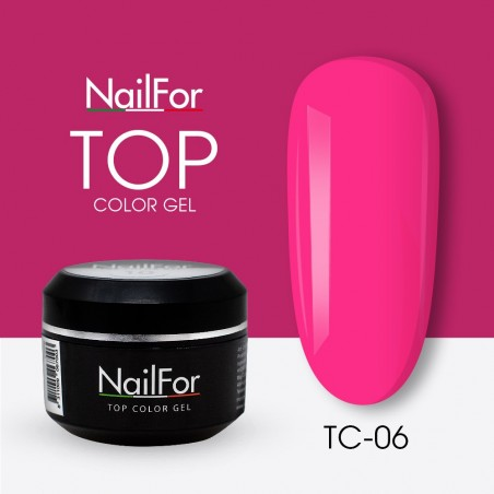 colore gel per unghie, nail art, nails Painting Gel - TOP COLOR 06 | Nailfor 4,74€