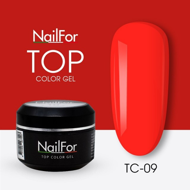 colore gel per unghie, nail art, nails Painting Gel - TOP COLOR 09 | Nailfor 4,74 €