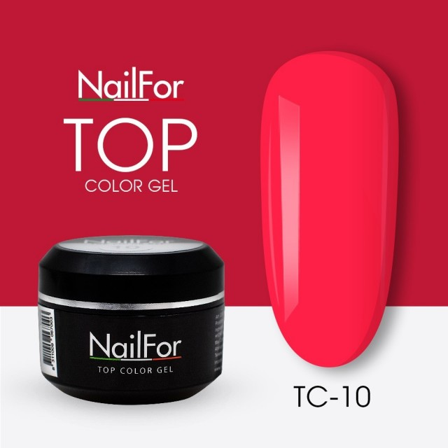 colore gel per unghie, nail art, nails Painting Gel - TOP COLOR 10 | Nailfor 4,74€