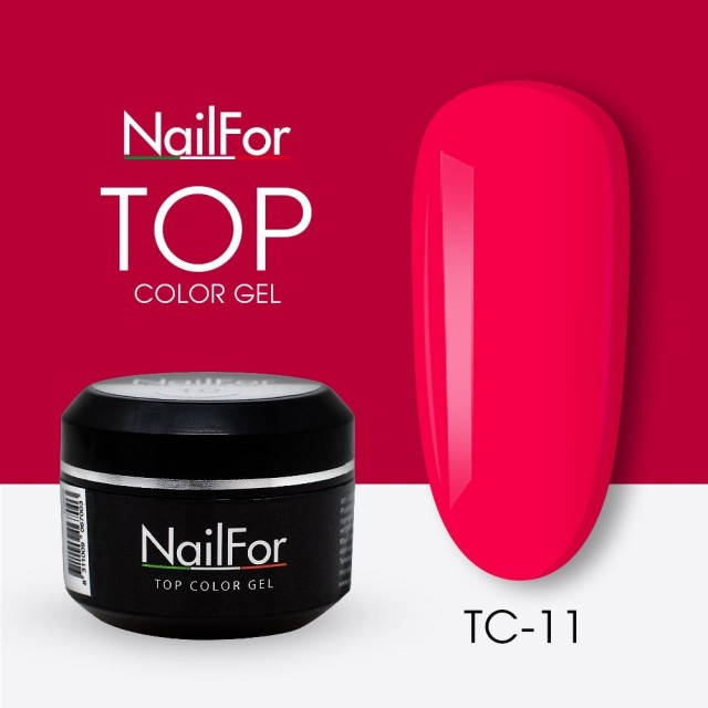 colore gel per unghie, nail art, nails Painting Gel - TOP COLOR 11   Nailfor 4,74€