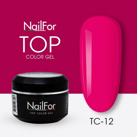 colore gel per unghie, nail art, nails Painting Gel - TOP COLOR 12 | Nailfor 4,74€