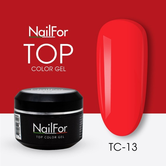 colore gel per unghie, nail art, nails Painting Gel - TOP COLOR 13   Nailfor 4,74€