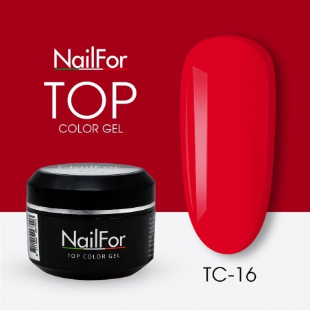 colore gel per unghie, nail art, nails Painting Gel - TOP COLOR 16 | Nailfor 4,74€