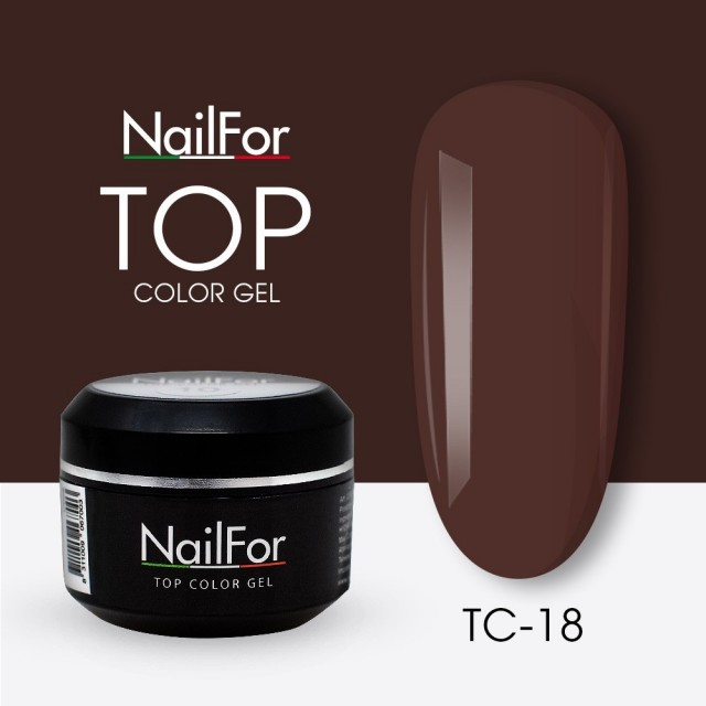 colore gel per unghie, nail art, nails Painting Gel - TOP COLOR 18 | Nailfor 4,74€