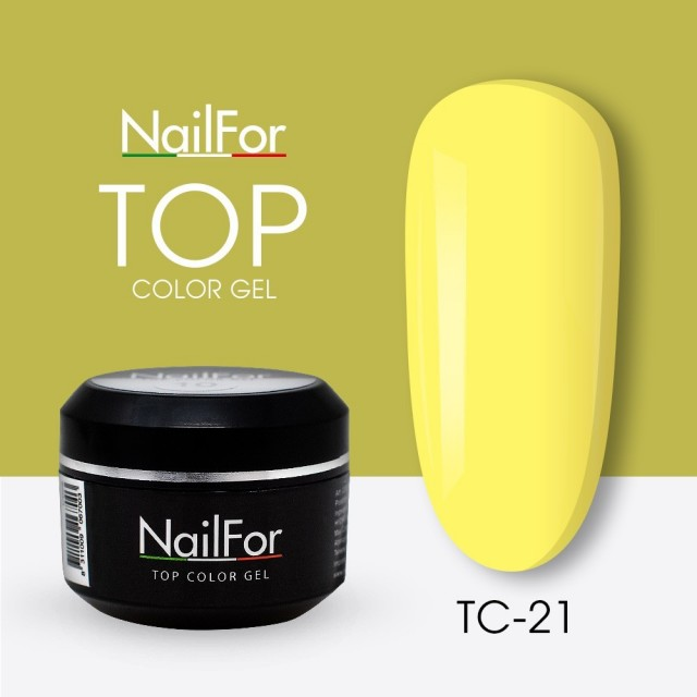 colore gel per unghie, nail art, nails Painting Gel - TOP COLOR 21 | Nailfor 4,74€