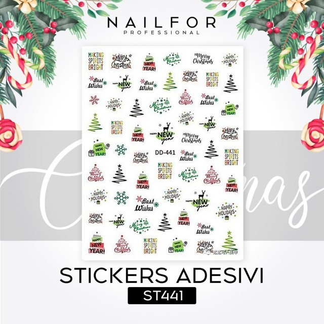 STICKERS CHRISTMAS - ST441