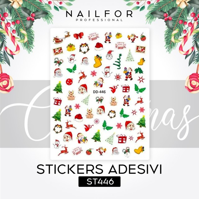 STICKERS CHRISTMAS - ST446
