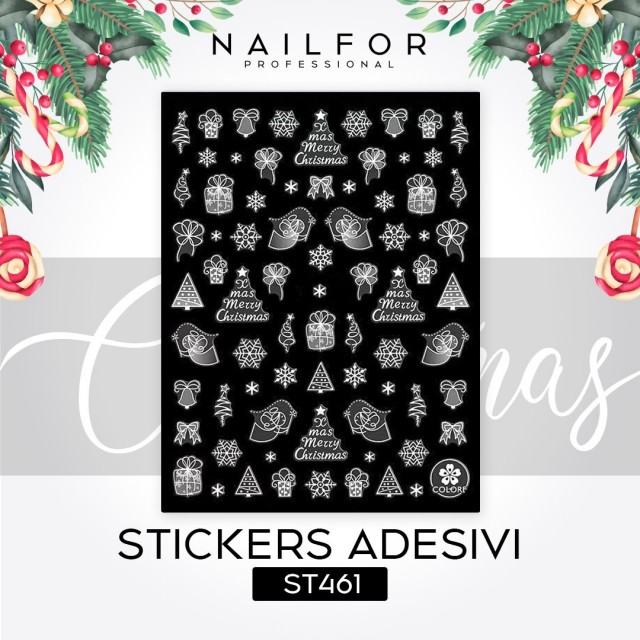 STICKERS CHRISTMAS - ST461
