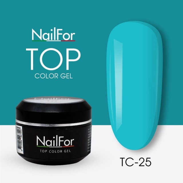 colore gel per unghie, nail art, nails Painting Gel - TOP COLOR 25 | Nailfor 4,74€