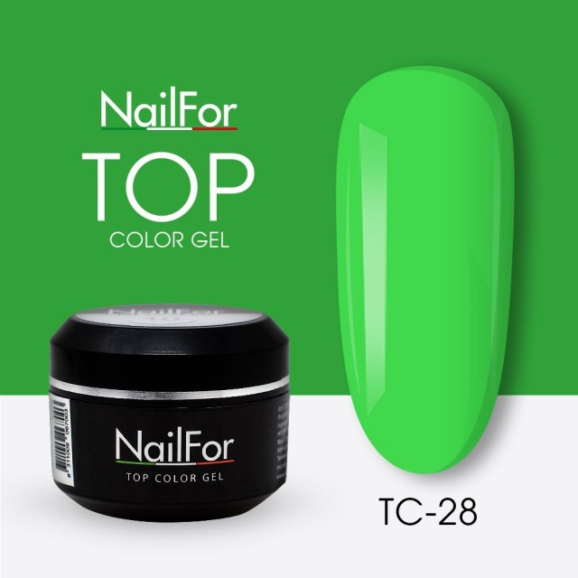 colore gel per unghie, nail art, nails Painting Gel - TOP COLOR 28 | Nailfor 4,74€