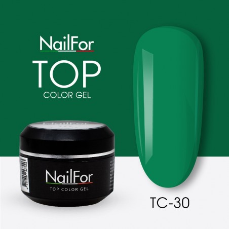 colore gel per unghie, nail art, nails Painting Gel - TOP COLOR 30 | Nailfor 4,74€