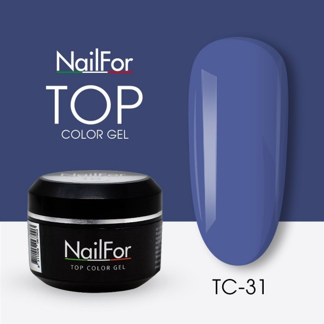 colore gel per unghie, nail art, nails Painting Gel - TOP COLOR 31 | Nailfor 4,74€