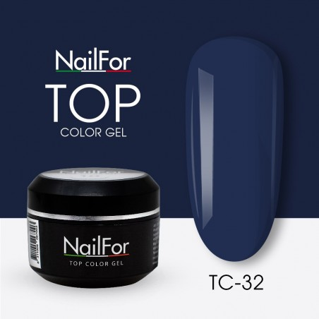colore gel per unghie, nail art, nails Painting Gel - TOP COLOR 32 | Nailfor 4,74€