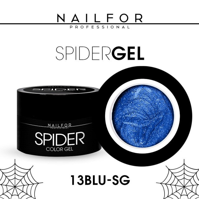 SPIDER GEL - 13 Blue