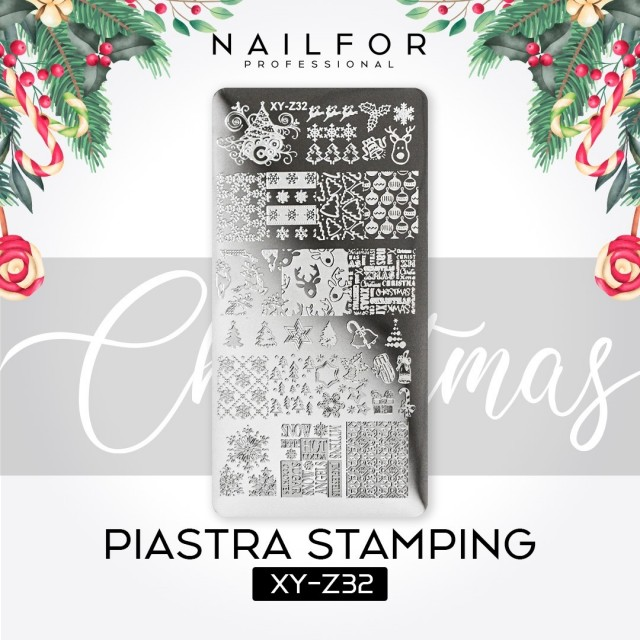 PLATE STAMPING CHRISTMAS XY-Z32
