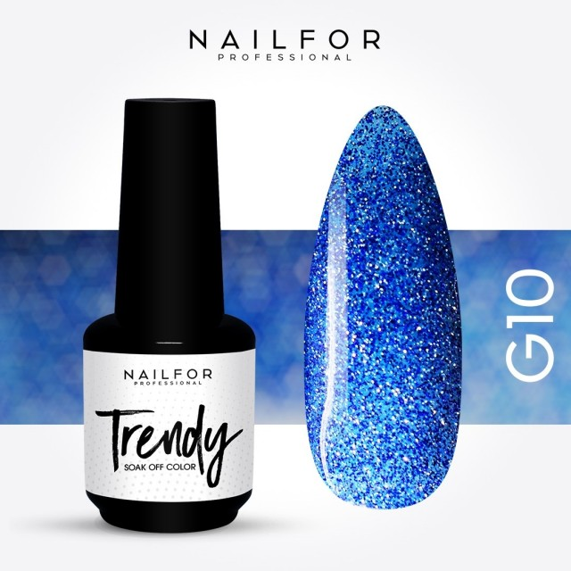 TRENDY Semi-permanent nail Polish...