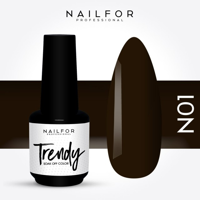 Semipermanente smalto colore per unghie: TRENDY Smalto Semipermanente N01-PGP Nailfor 7,99 €