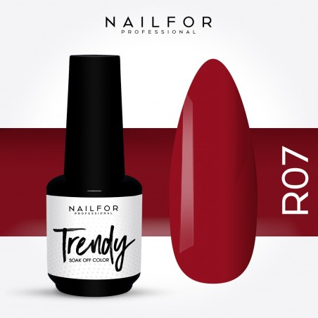 Semipermanente smalto colore per unghie: TRENDY Smalto Semipermanente R07-PGP Nailfor 7,99 €