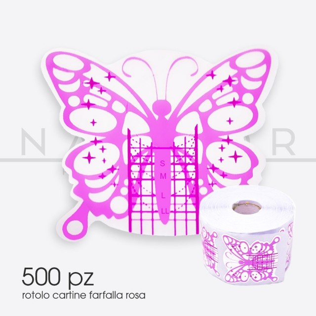 MAPS Roses Butterfly - roll 500pcs