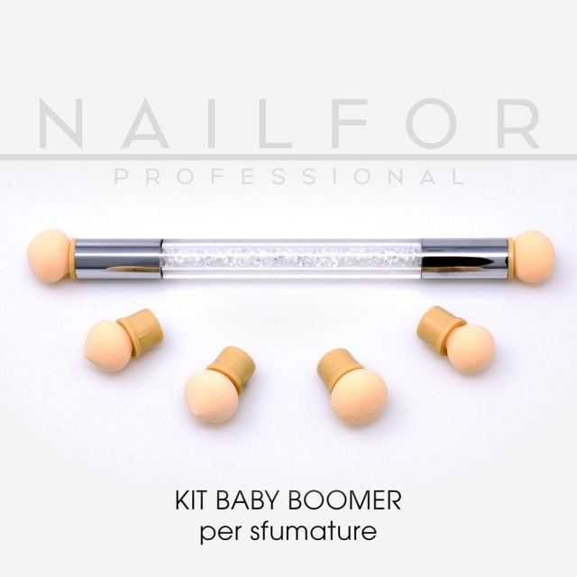 KIT BABY BOOMER - BRUSH for decorations