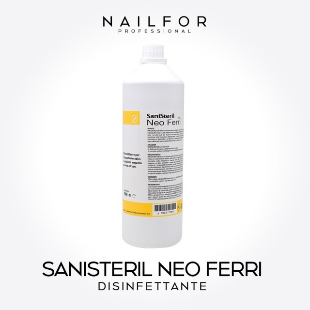 SANISTERIL Neo Drops new Disinfectant...