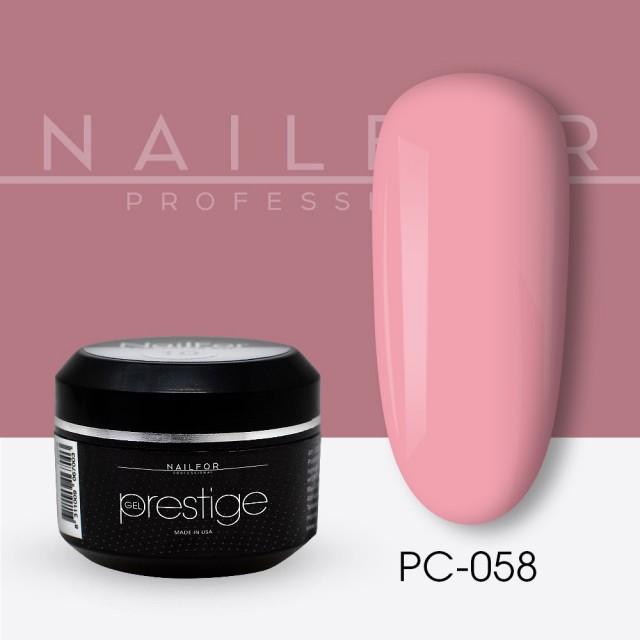 colore gel per unghie, nail art, nails PRESTIGE COLOR GEL 058-PC   Nailfor 2,20€