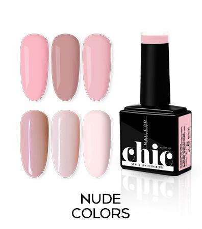 Colori nude semipermanente Chic