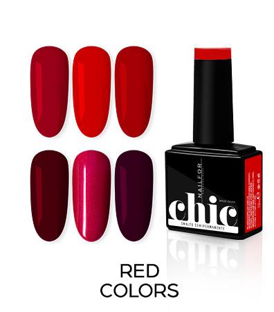 Colori rossi semipermanente Chic