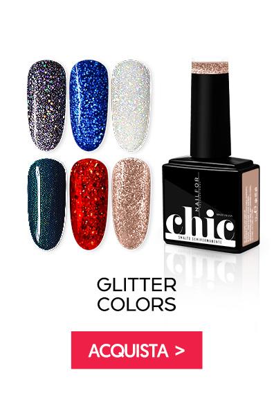 Colori glitter semipermanente Chic