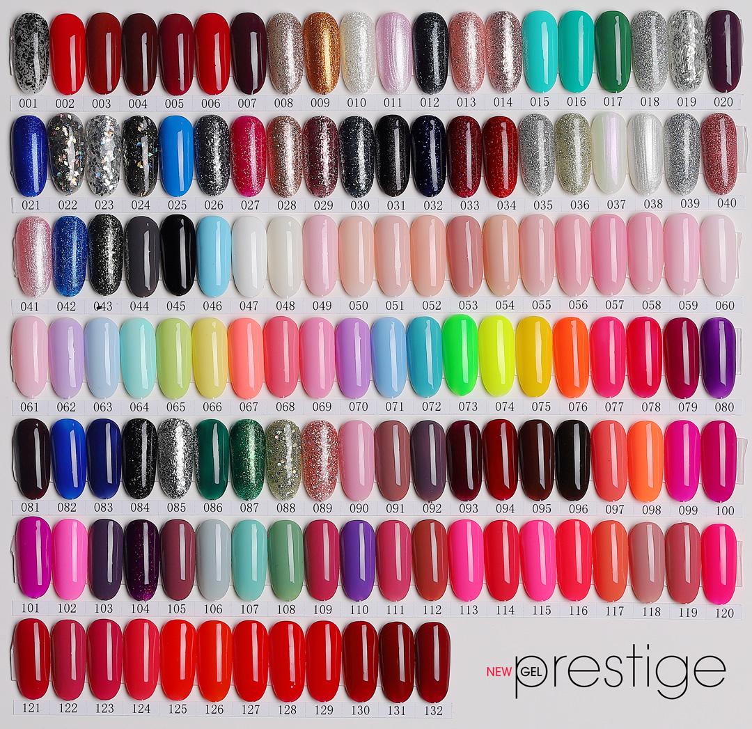 Cartella Colori New Gel Prestige