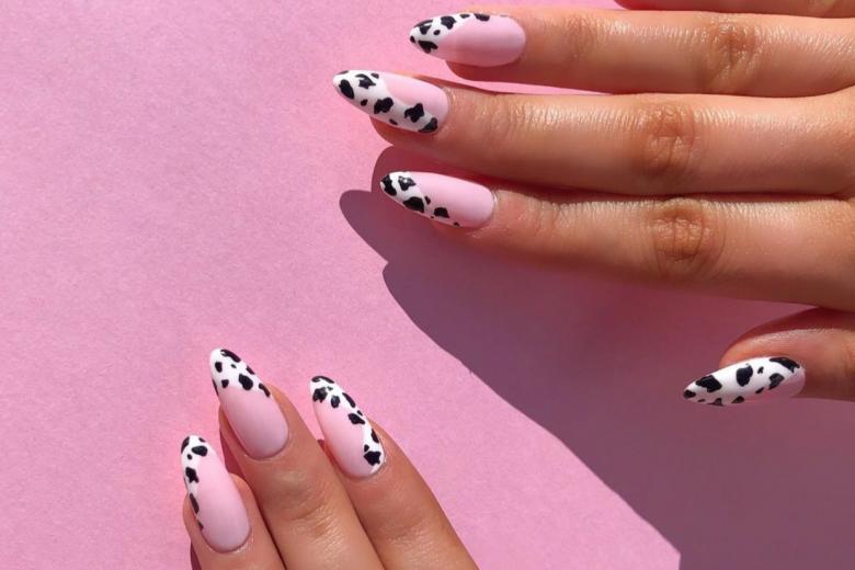 Unghie animalier: le cow-nails più glam